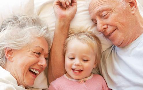 La relación con abuelas y abuelos